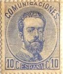 Sellos de Europa - España -  10 céntimos 1872-73