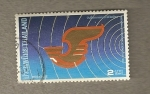 Sellos de Asia - Tailandia -  Dia de las Comunicaciones 1987