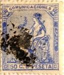 Sellos de Europa - España -  50 céntimos 1873