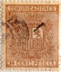 Sellos de Europa - España -  10 céntimos 1874