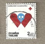 Sellos de Asia - Tailandia -  Cruz roja