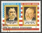 Stamps : Africa : Equatorial_Guinea :  Chester A. Arthur y Grover Cleveland