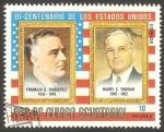 Sellos de Africa - Guinea Ecuatorial -  Franklin D. Roosevelt y Harry S. Truman