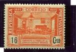 Sellos de Europa - Portugal -  Centenario del Nacimiento de Camilo Castelo Branco. Despacho de Branco