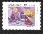 Stamps Honduras -  500 Aniversario del Descubrimiento de América