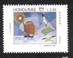 Sellos de America - Honduras -  500 Aniversario del Descubrimiento de América