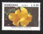 Sellos del Mundo : America : Honduras :  Flores Ornamentales