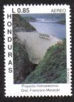 Sellos de America - Honduras -  Proyecto Hidroeléctrico Gral. Francisco Morazán