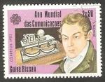 Stamps Guinea Bissau -  Año Mundial de las Comunicaciones, S. Morse