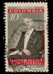 Stamps of the world : Colombia :  cent. de humboldt