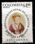 Stamps : America : Colombia :  María J Páramo