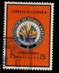 Stamps : America : Colombia :  ORGANZIACIÓN DE ESTADOS AMERICANOS