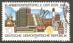 Stamps Germany -  2175 - 18 Festival de la región de Rostock