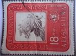 Sellos de America - Argentina -  XV Congreso de la Unión Postal Universal