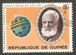 Stamps : Africa : Guinea :  Centº del invento del teléfono por Graham Bell