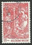 Stamps : Europe : Belgium :  Navidad, pintura de Van der Weyden
