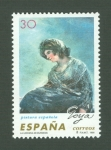 Stamps of the world : Spain :  PINTURA ESPAÑOLA. FRANCISCO DE GOYA Y LUCIENTES