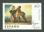 Stamps of the world : Spain :  PINTURA ESPAÑOLA. FRANCISCO DE GOYA Y LUCIENTES