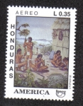 Sellos de America - Honduras -  Upaep