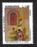 Stamps Honduras -  Año Internacional de La Familia