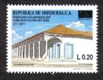 Sellos de America - Honduras -  Homenaje A La Memoria del sabio José Cecilio del Valle