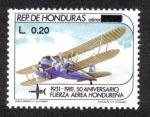 Stamps Honduras -  50 Aniversario Fuerza Aérea Hondureña