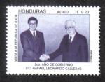 Sellos del Mundo : America : Honduras : 2do. Año de Gobierno Lic. Rafael Leonardo Callejas