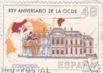 Stamps Spain -  XXV Aniversario de la OCDE (15)