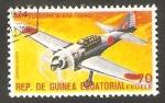 Sellos de Africa - Guinea Ecuatorial -  Avión