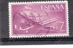 Sellos de Europa - España -  Nao Santa María y avión