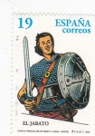 Sellos de Europa - España -  Personaje de cómics- El Jabato  (15)