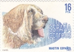 Stamps Spain -  Mastín español (15)