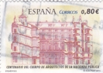 Stamps Spain -  Centenario del cuerpo de arquitectos de de la gHacienda Pública (15)