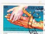 Stamps Spain -  Año europeo de las personas mayores y solidaridad entre las generaciones (15)