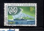 Stamps : America : ONU :  OMCI: Organización Intergubernamental Consultiva de la Navegación Marítima