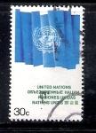 Sellos de America - ONU -  Bandera