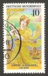 Sellos de Europa - Alemania -  758 - Sophie Schröder, actriz