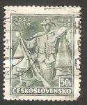 Stamps : Europe : Czechoslovakia :  339 - 20 anivº de las batallas de legionarios checoslovacos en Francia e Italia