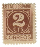 Stamps Europe - Spain -  2 centimos