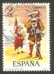 Sellos de Europa - España -  2168 - Uniforme militar Arcabucero de Infantería
