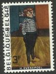 Stamps : Europe : Belgium :  Pintura de Evenepoel