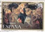 Sellos de Europa - España -  Navidad- La huida de Egipto (15)