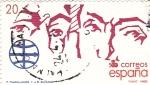 Stamps Spain -  Magallanes y Elcano (15)