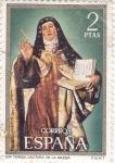 Stamps Spain -  Santa Teresa doctora de la iglesia (15)