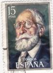 Stamps Spain -  Menéndez Pidal- Filólogo  (15)