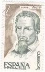 Sellos de Europa - España -  Miguel Servet- teólogo  (15)