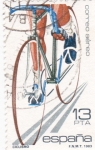 Stamps Spain -  Ciclismo  (15)