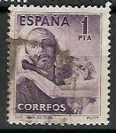 Sellos de Europa - España -  ESPAÑA SEGUNDO CENTENARIO USD Nº 1070 (0) SAN JUANDE DIOS
