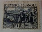 Sellos de Europa - España -  III Centenario de la muerte de Lopez de Vega