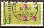 Sellos de Europa - Alemania -  Centenario de la muerte de Gregor Mendel (genetista).
